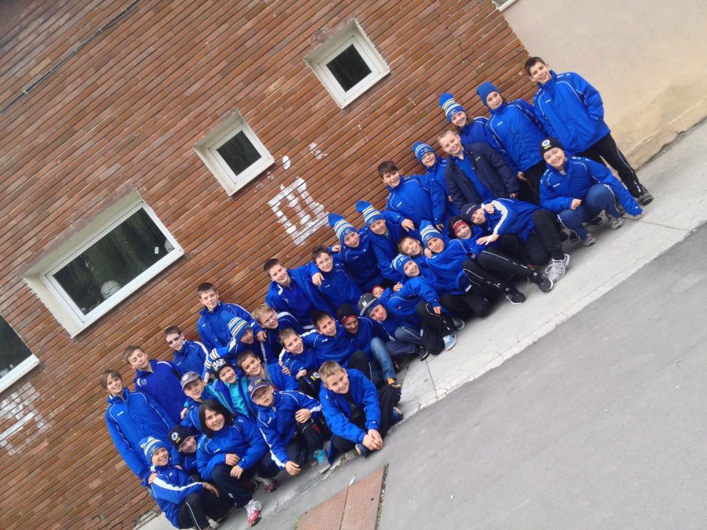 A MAC U12-es csapat Csíkszeredában