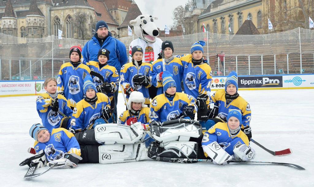 A MAC U8 A csapat a Városligetben 2013. december 15-én