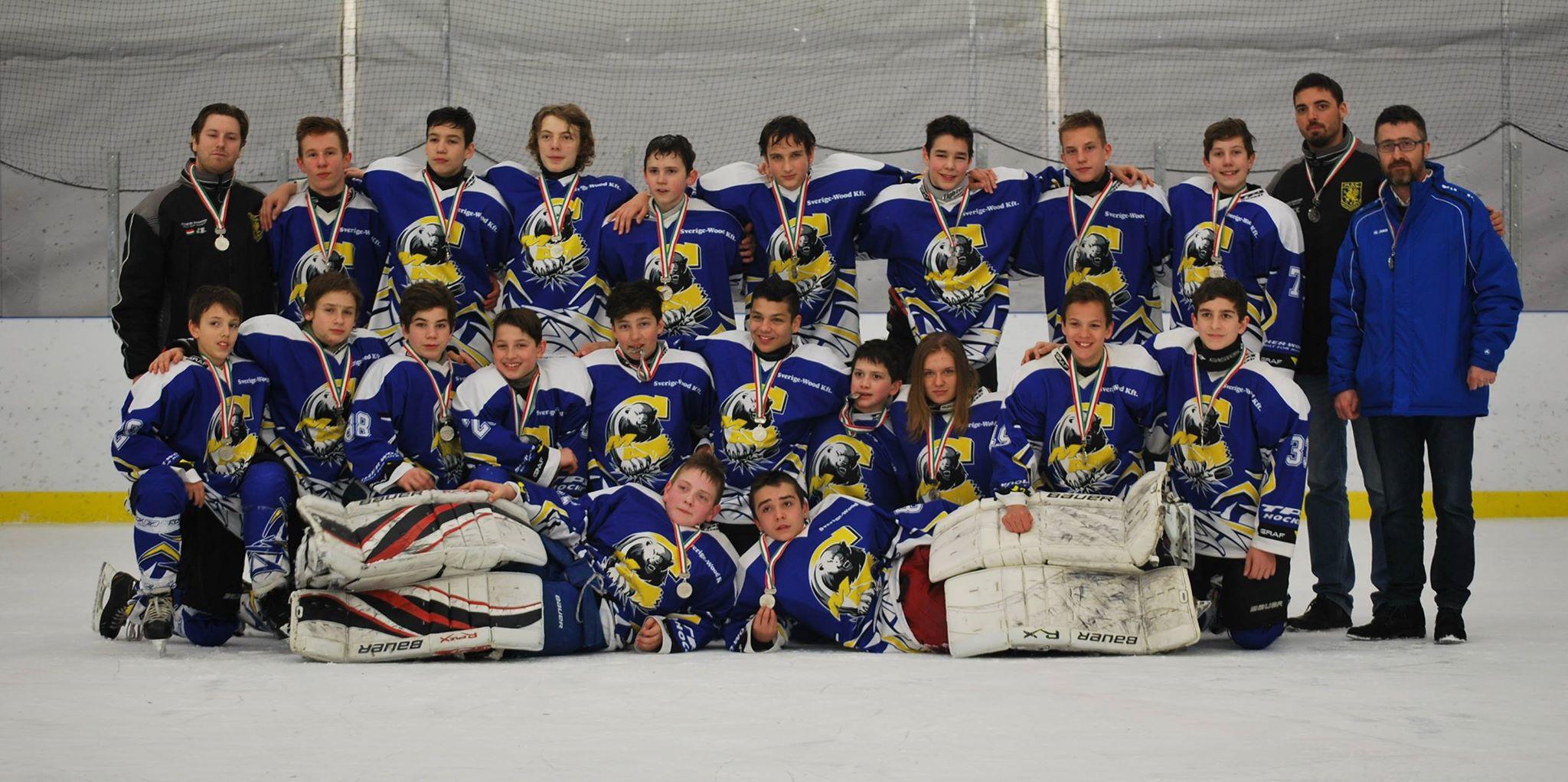 Fényesen csillogó ezüstöt nyert csapatunk az U14-es bajnokságba