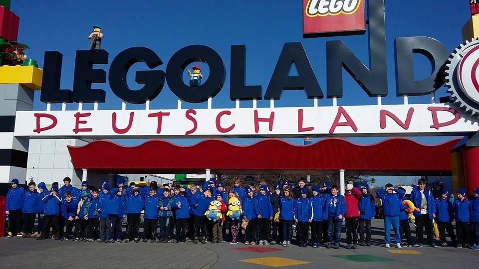 A Legolandnál Günzburg közelében
