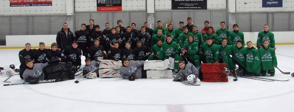A fekete és a zöld csapat a 2015-ös MMM napon