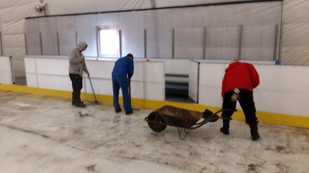 Elkezdődött a Kisstadion jegének helyreállítása