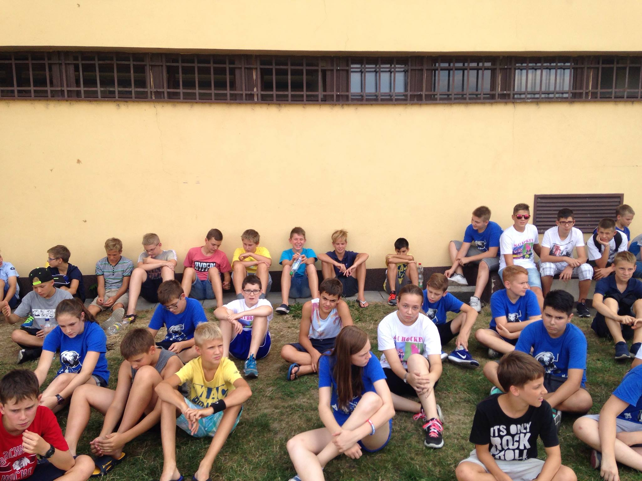 Edzőtáborban az U14-es korosztály