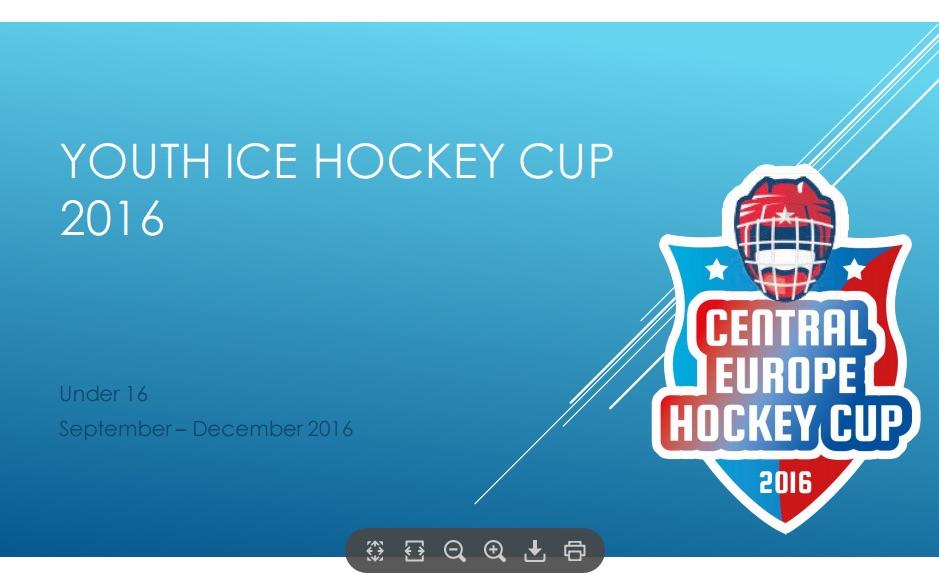 A MAC is részt vesz a 2016-ban induló Central Europe Hockey Cup ...
