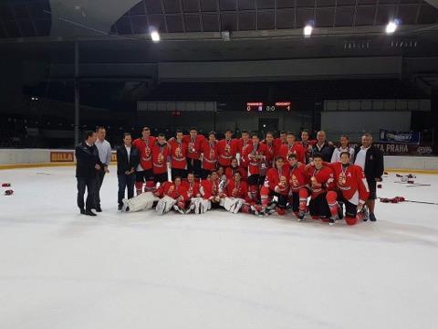 U16-os győzelem Prágában
