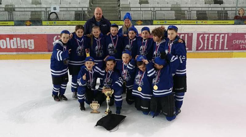 EMHL bajnok és kupagyőztes U10-es csapatunk
