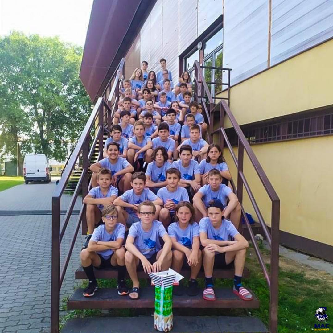 Lezajlott az U14-es korosztály edzőtábora is Léván